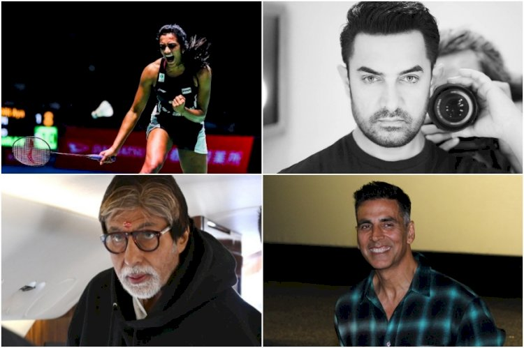 Amitabh Bachchan, Akshay Kumar, Aamir Khan Congratulate Shuttler PV Sindhu After Badminton World Championships Victory