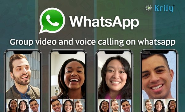 WhatsApp video call with support for 8 people launched for iOS