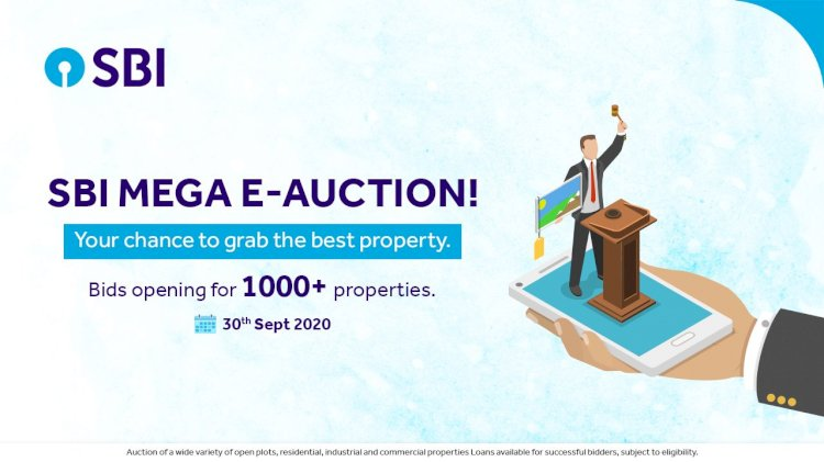 SBI Mega e-Auction 2020: Big opportunity to buy cheaper home, plot or shop | check date, other details