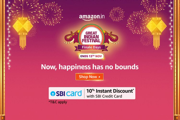 Amazon Great Indian Festival Sale is Live Now