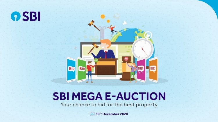 SBI mega e-auction for properties: Check date, eligibility and other details