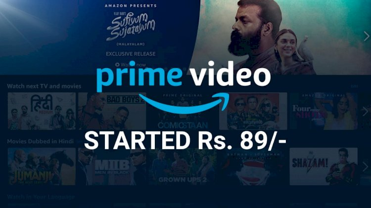 Amazon launches 'Prime Video Mobile Edition' in India starting ₹89
