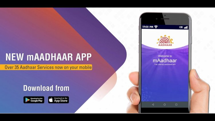 Use mAadhaar app to avail over 35 services