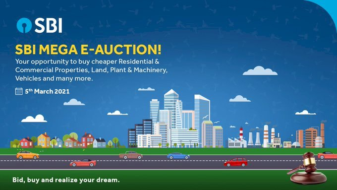 SBI mega property e-auction across India starts today: Key things to know