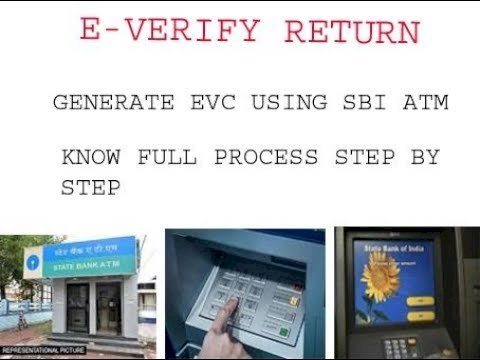 Here's step by step guide to verify ITR at your nearest ATM