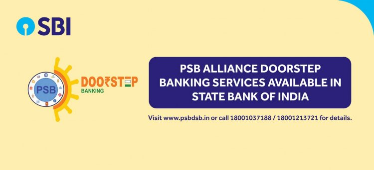 Now, Govt banks are providing doorstep banking for a Payment