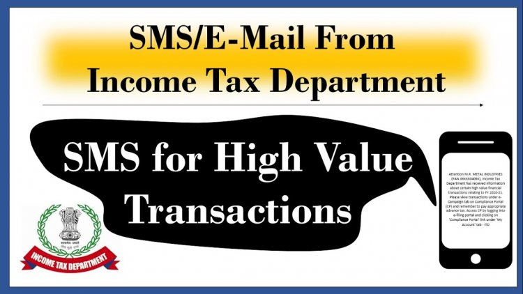 Six high value transactions, which could lead to Income Tax notice