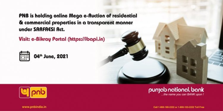PNB mega e-auction for properties: Check date and other details here