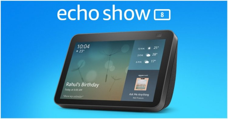 Amazon Echo Show 8 2nd Gen launched in India: Price, features