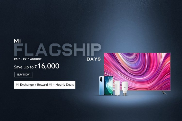 Xiaomi announces Mi Flagship Days sale: Dates, offers and more