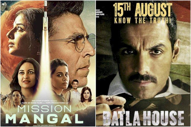 Akshay Kumar's Mission Mangal Unstoppable, John Abraham's Batla House Loses Steam at Box Office