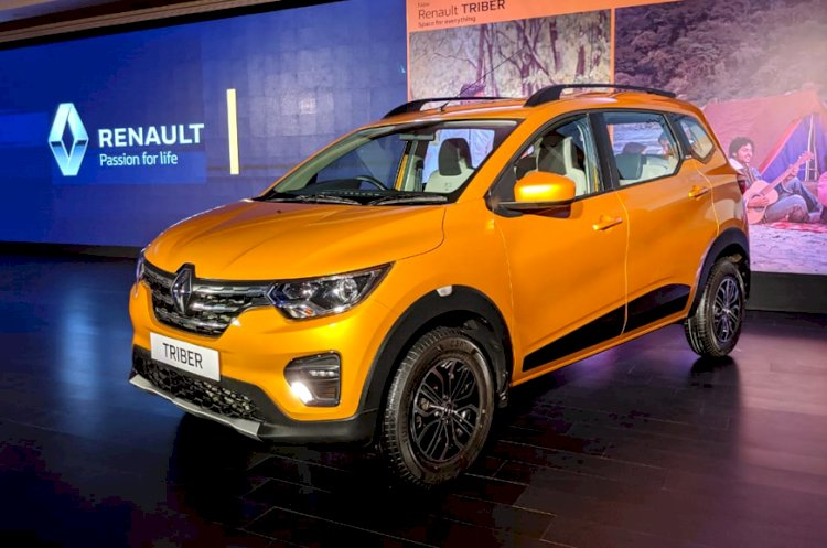 Renault Triber MPV Launched in India at Rs 4.95 Lakh
