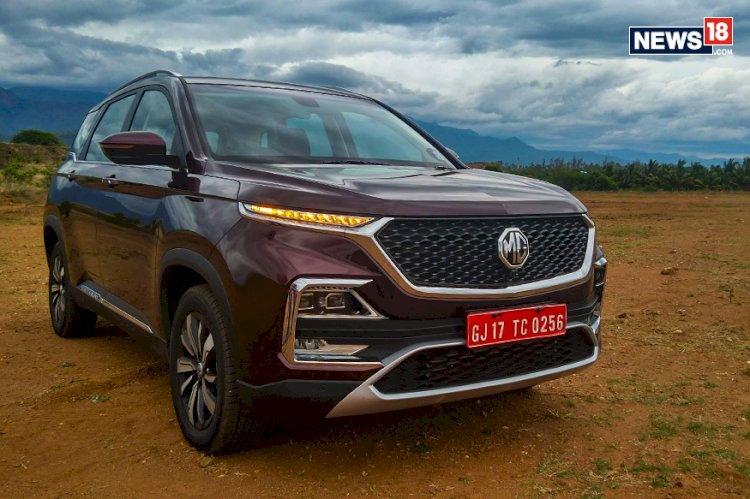 MG Sells 2,018 Units of Hector SUV in August 2019, Rolls out 5000th Unit