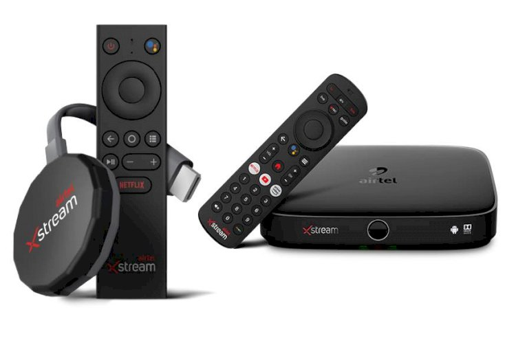 Airtel Xstream Stick And Xstream Box With 4K For Streaming Apps Priced at Rs 3,999