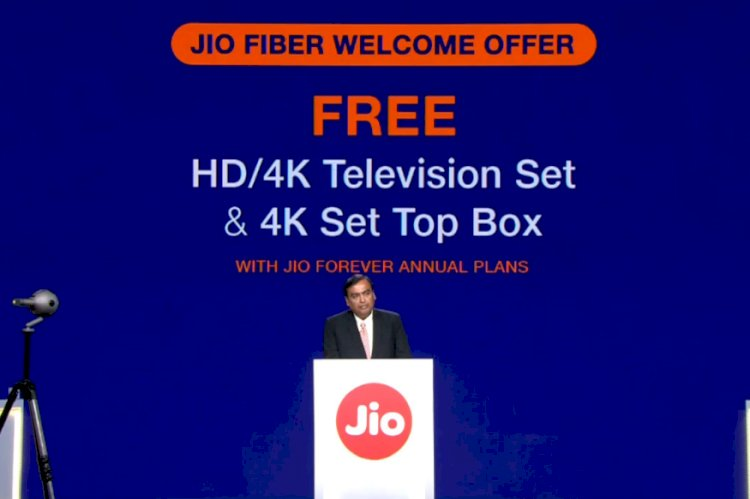 Reliance JioFiber: Here is How You Can Get a Free HD or 4K TV With Annual Plans
