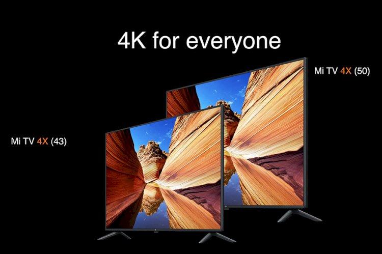 Xiaomi Mi TV 4X 65-inch Launched Alongside Mi TV 4X 50-inch, 4X 43-inch and 4A 40-inch
