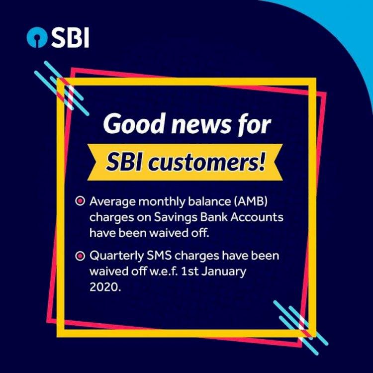 SBI waives minimum balance charges on all savings bank accounts