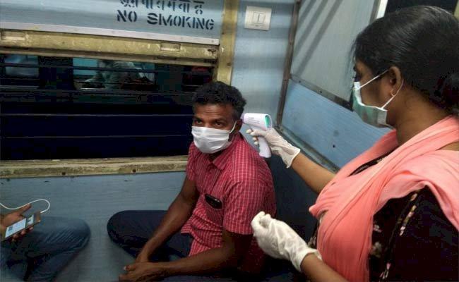 Indian Railways Kick Starts 'Thermal Screening' In Running Train