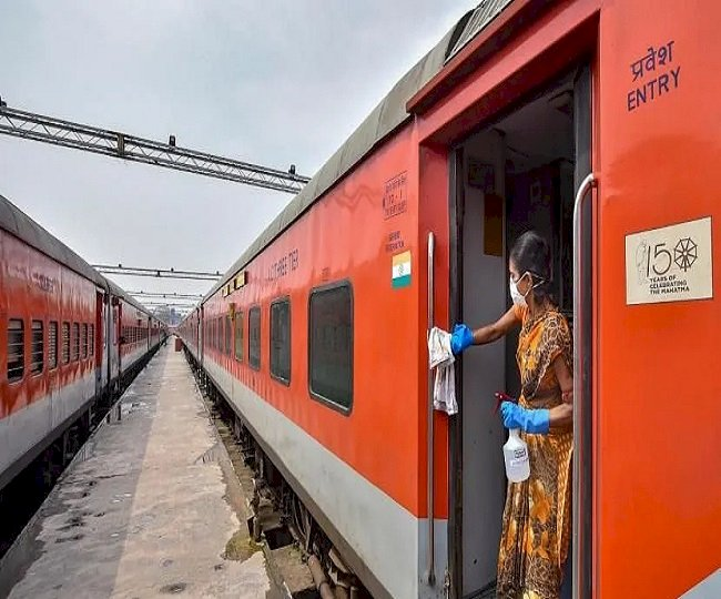Train services resumed after nearly two months