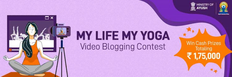 PM Modi launches 'My Life My Yoga' video blogging contest, winner to get Rs 1 lakh as prize money