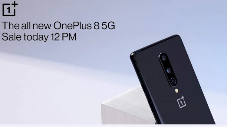OnePlus 8 Pro sale in India Today on Amazon.