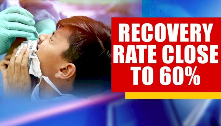 Recovery Rate Of COVID-19 Patients Nearing 60 Per Cent