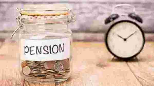 Government employees pension rules changed due to Covid. 5 points