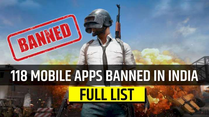 Including PUBG, among 118 Chinese mobile apps banned by India.